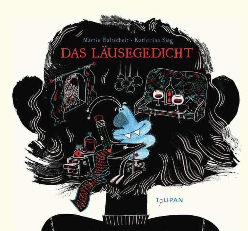 Bilderbuch von Martin Baltscheit über Läuse in Reimen