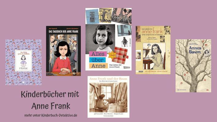 Kinderbücher, Bilderbücher, Comics und Graphic Novels über Anne Frank für Kinder und Jugendliche