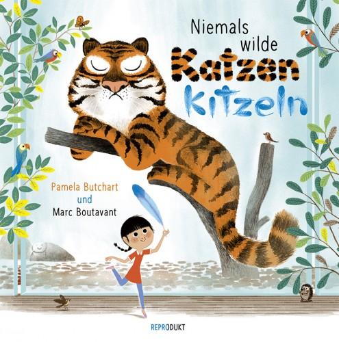 "Bilderbuch ""Niemals wilde Katzen kitzeln"""