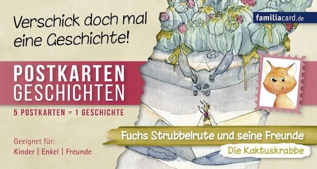 Postkartengeschichte Die Kaktuskrabbe