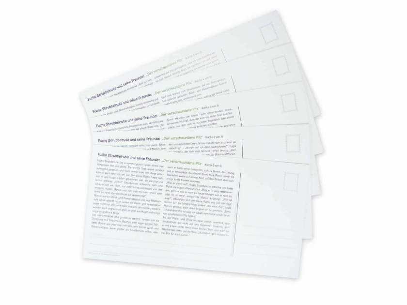 Postkartengeschichte Text