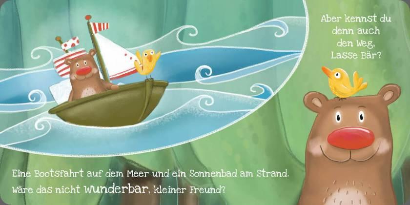 Bilderbuch für Babys Meer