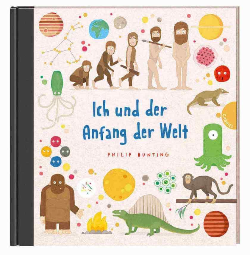 Ich und der Anfang der Welt ist ein Bilderbuch über die Entstehung der Erde, den Menschen und die Evolution