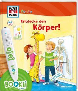 Entdecke den Körper Bookii Hörstift, Kinderbuch Körper Bookii Hörstift