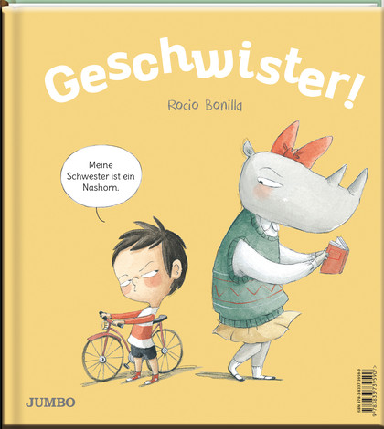Bilderbuch über Geschwister, Geschwisterstreit und Geschwisterliebe