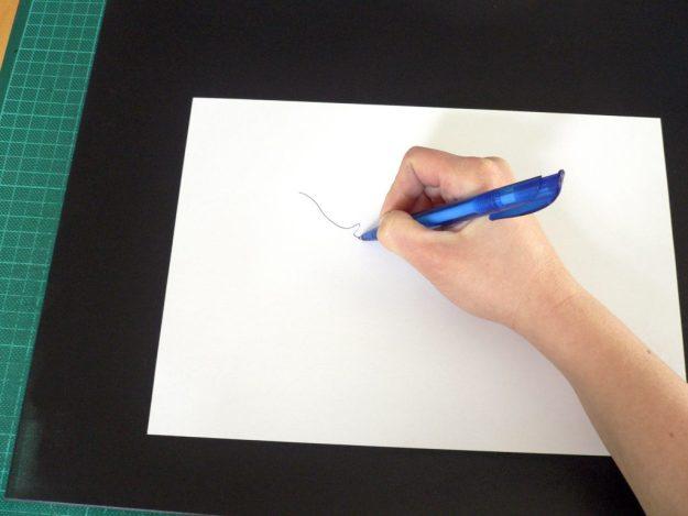 Monotypie Zeichnen