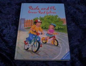 Paula und Flo lernen Rad fahren_Irmgard Paule_Sandra Grimm