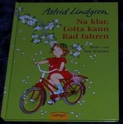 Na klar, Lotta kann Rad fahren_Astrid LIndgren
