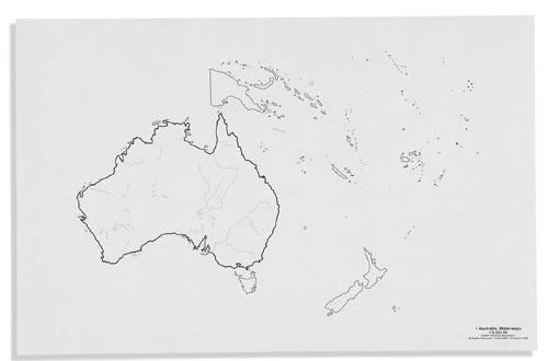 Vermenigvuldiging Werkbladen Australië 1