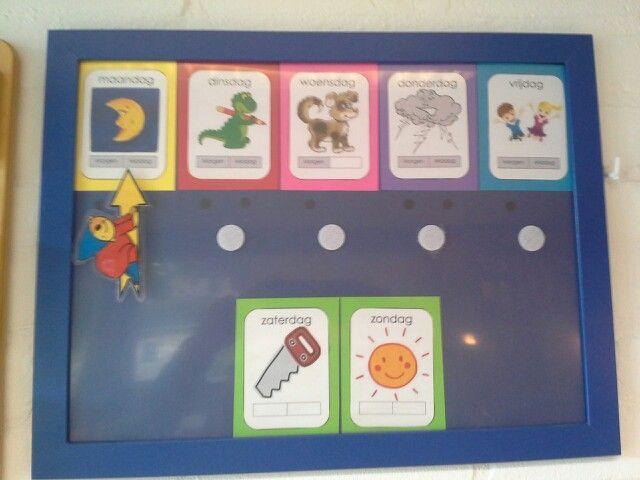 Preschool Werkbladen Dagen Van De Week 8