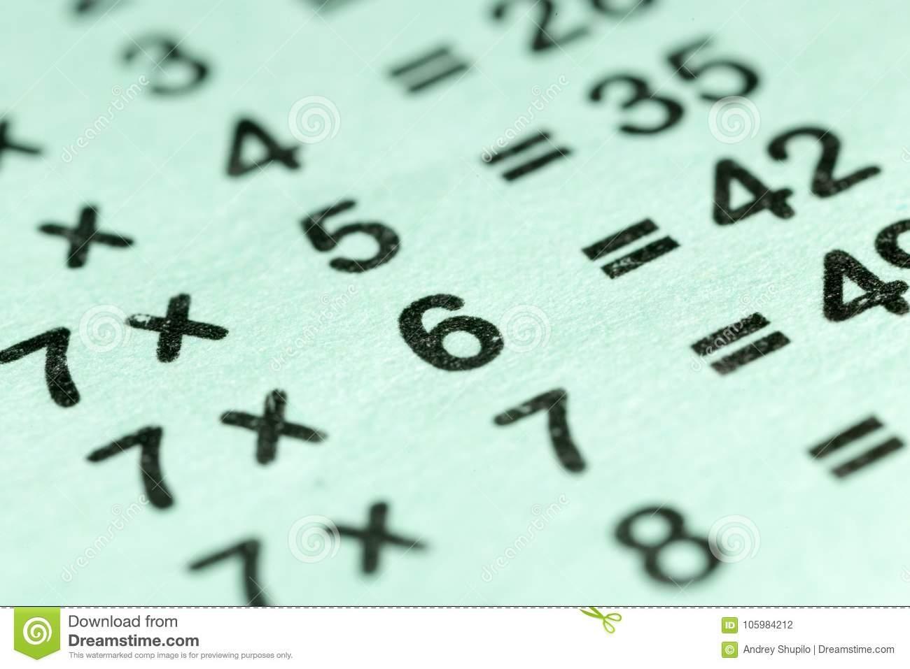Vermenigvuldiging Werkbladen Cijfer 3 3