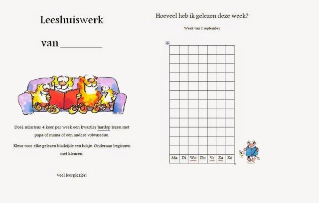 Voorschoolse Werkbladen Grote Scholen 2