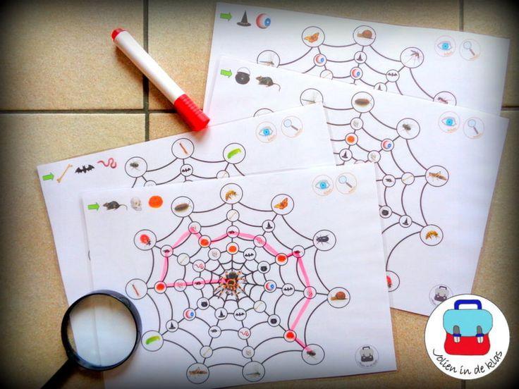 Voorschoolse Werkbladen Halloween 6