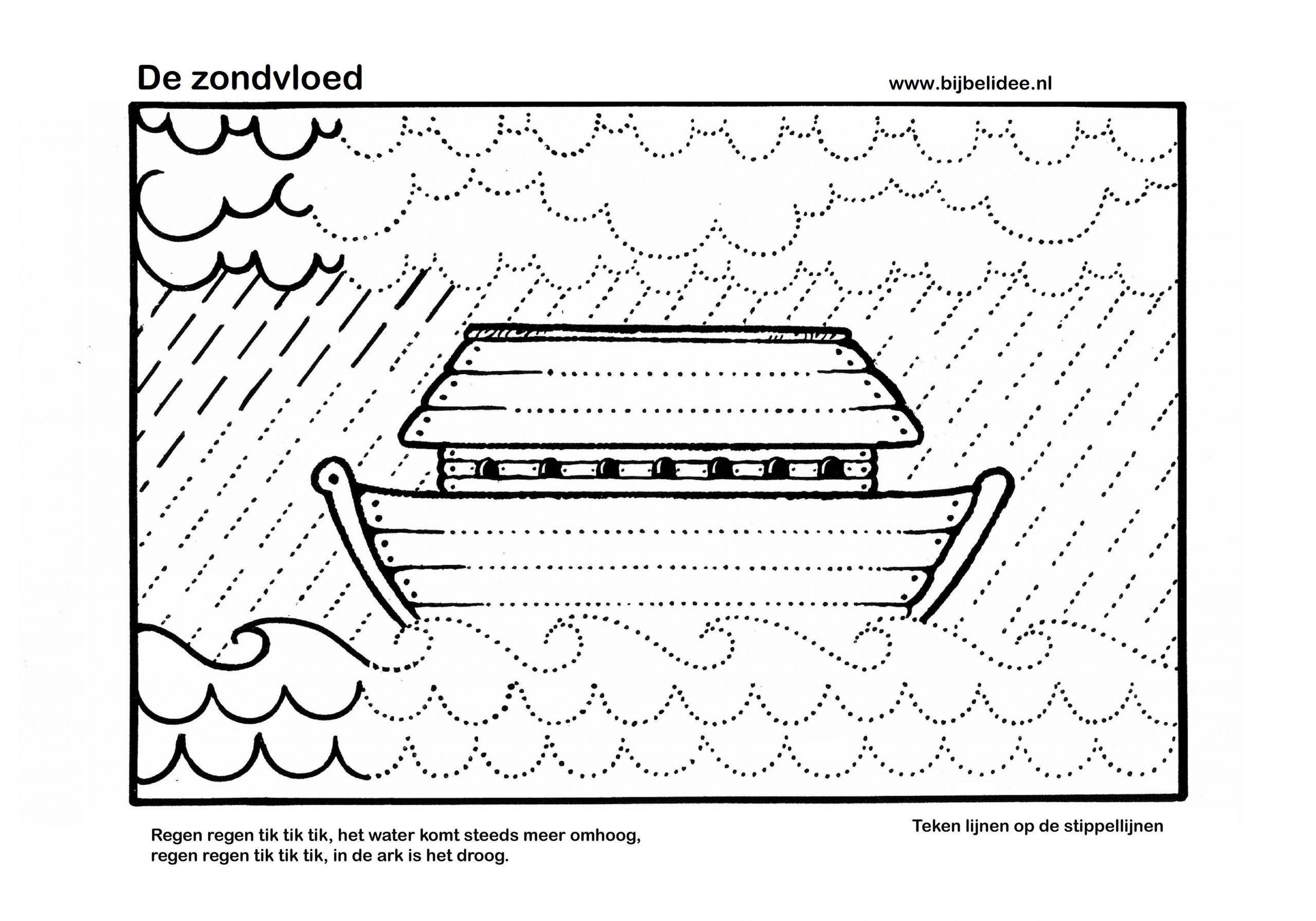 Voorschoolse Werkbladen Handschrift 1