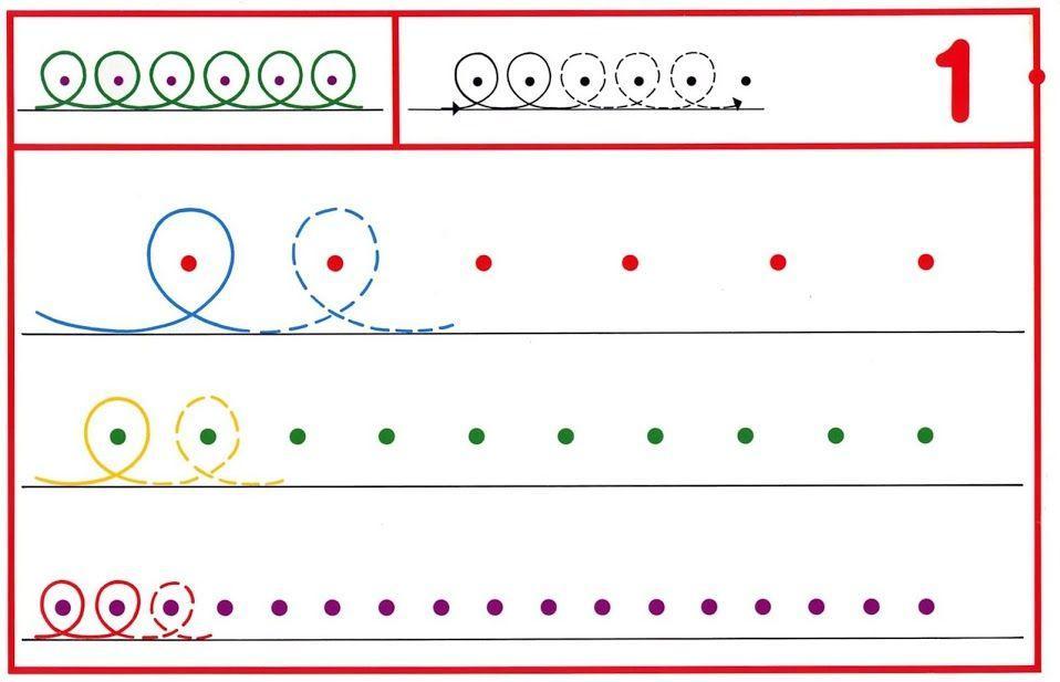 Voorschoolse Werkbladen Handschrift 6