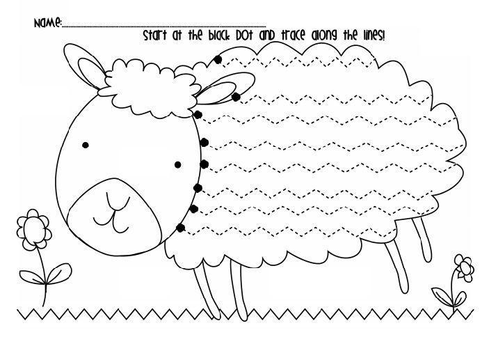 Voorschoolse Werkbladen Handschrift 8