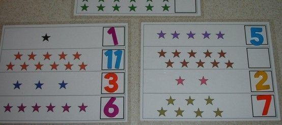 Voorschoolse Werkbladen In Wiskunde 7