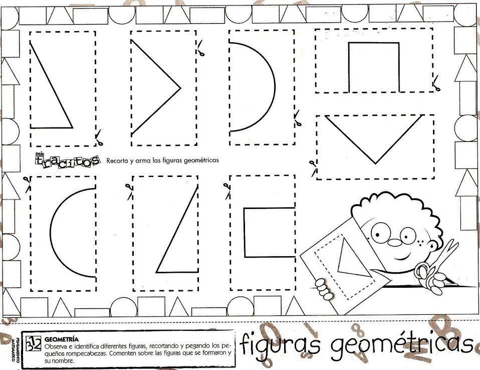 Voorschoolse Werkbladen Vormen 1