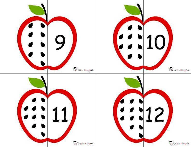 Voorschoolse Werkbladen Wiskunde 8
