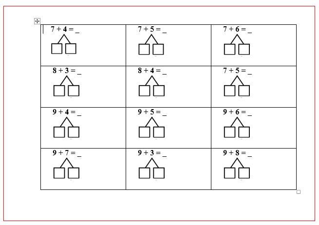 Werkbladen Met Vermenigvuldigingsraadsels 11