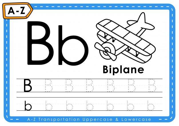 Voorschoolse Alfabet X Werkblad 2