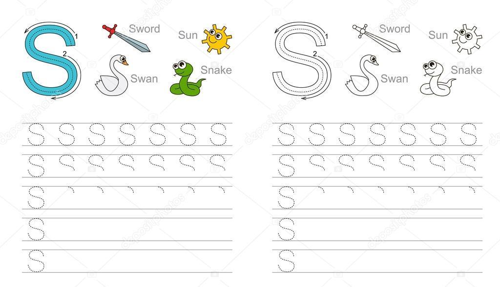 Voorschoolse Alfabet X Werkblad 8