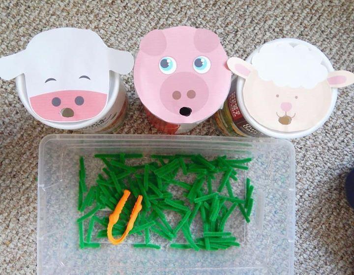 Voorschoolse Werkbladen Dierentuindieren 3