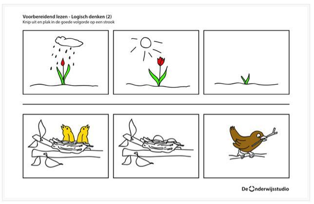 Voorschoolse Werkbladen Lezen 7