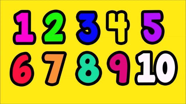 Voorschoolse Werkbladen Nummers 1-10 7