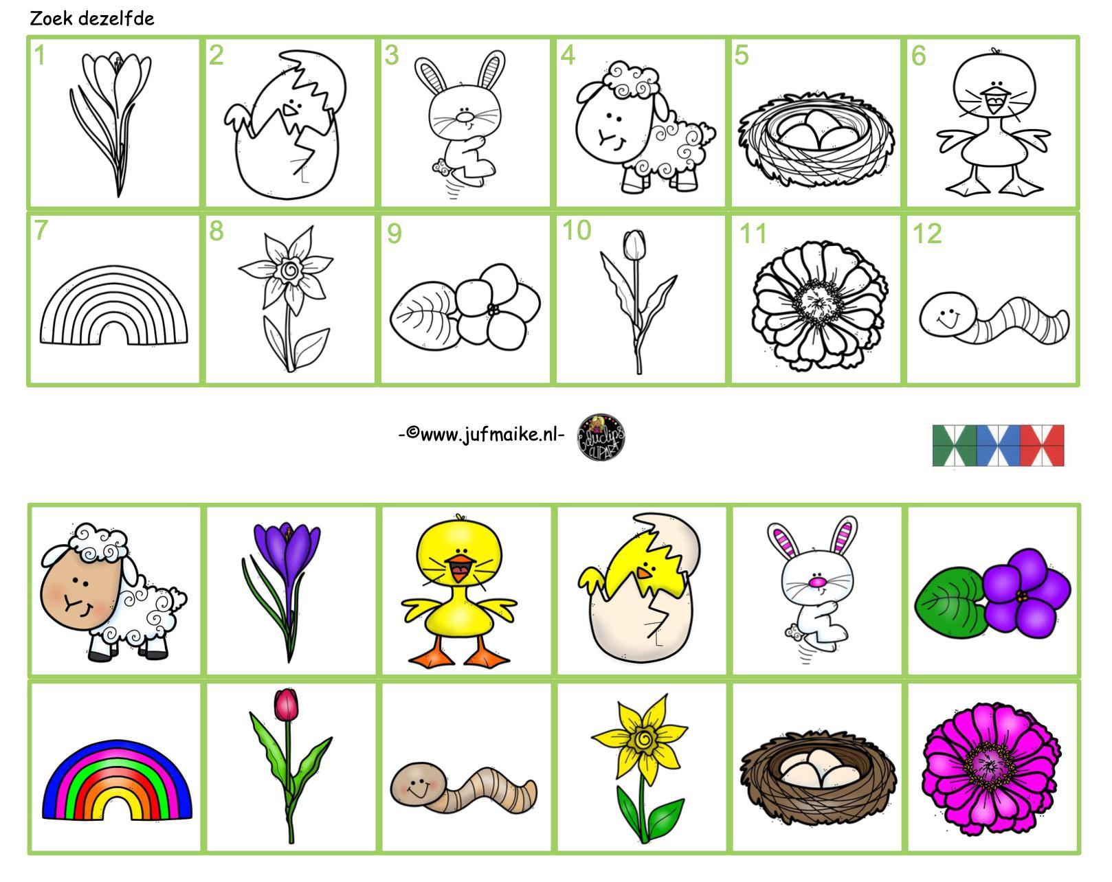 Werkbladen Voor Kleuters 3-jarigen 9