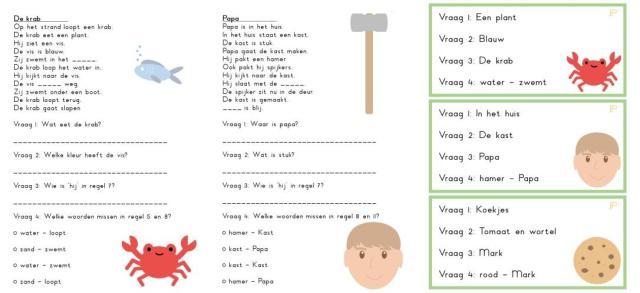 Werkbladen Voor Voorschoolse Wh Vragen 8