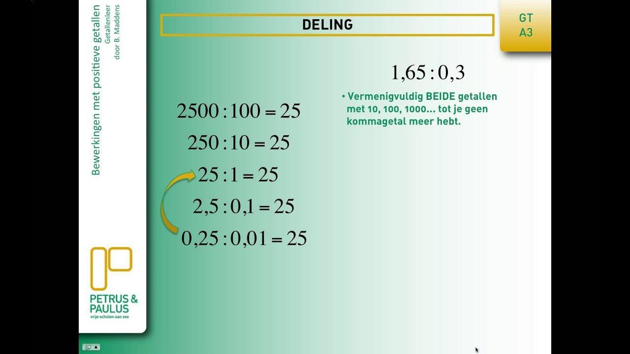 Wiskunde-werkbladen Gehele Getallen 5