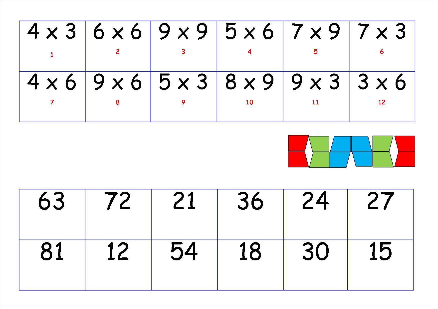 Wiskunde Werkbladen Klas 2 3