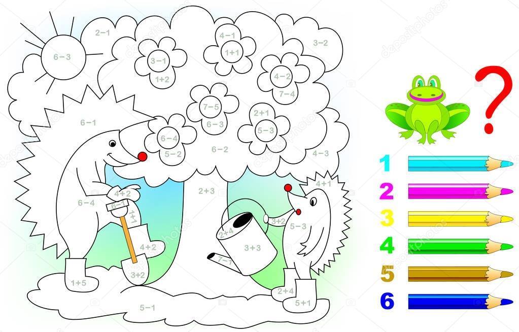 Wiskunde-werkbladen Voor Kinderen 4