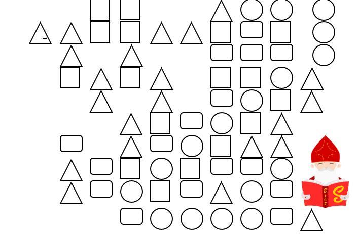 Wiskundige Werkbladen Uitgevouwen Vorm 5