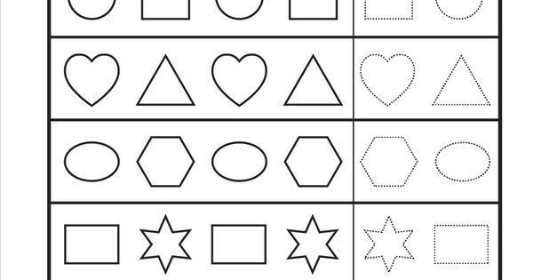 Wiskundige Werkbladen Uitgevouwen Vorm 9