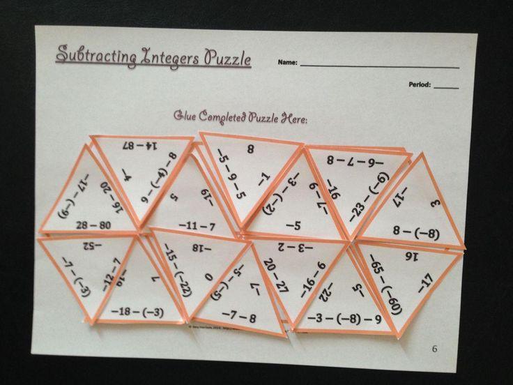 Algebra-werkbladen Klasse 8 10