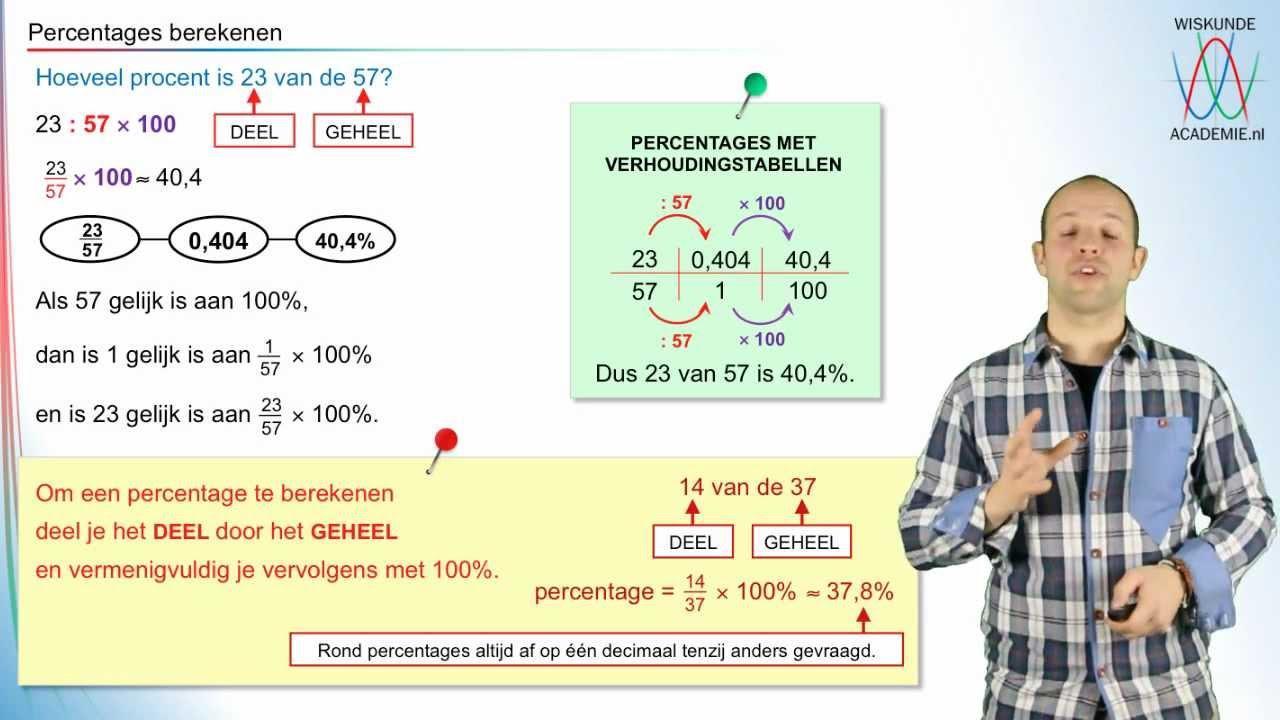 Percentages Voor Rekenwerkbladen 5