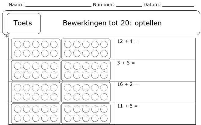 Wiskunde-werkbladen Aftrekken Met Hergroeperen 3