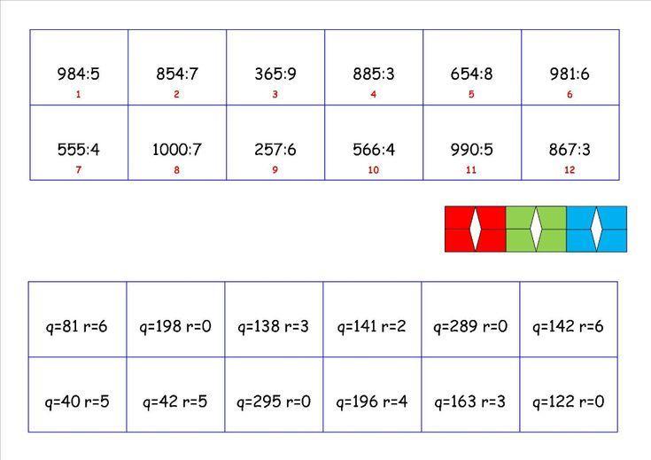 Wiskunde Werkbladen Grap 9