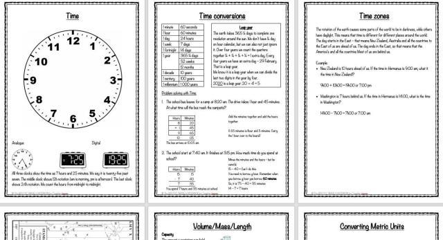 Wiskunde Werkbladen Jaar 5 5