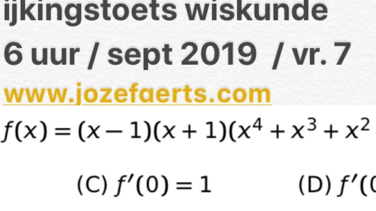 Wiskunde Werkbladen Jaar 7 7