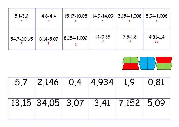Wiskunde Werkbladen Kuta 1