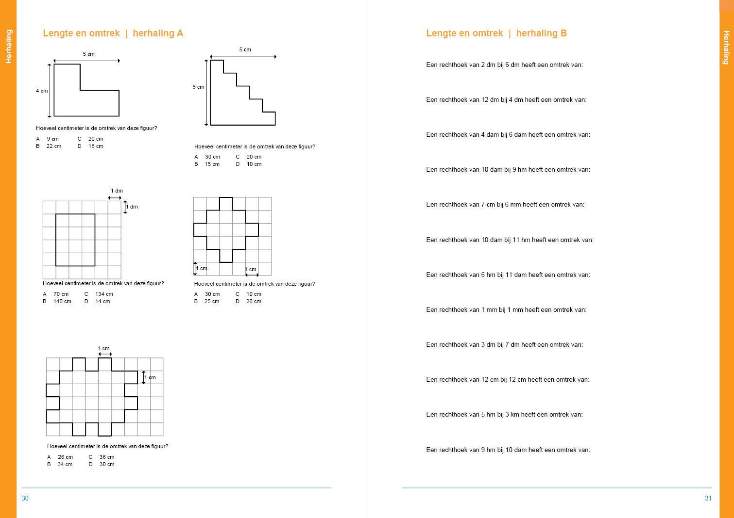 Wiskunde-werkbladen Met Antwoorden 10