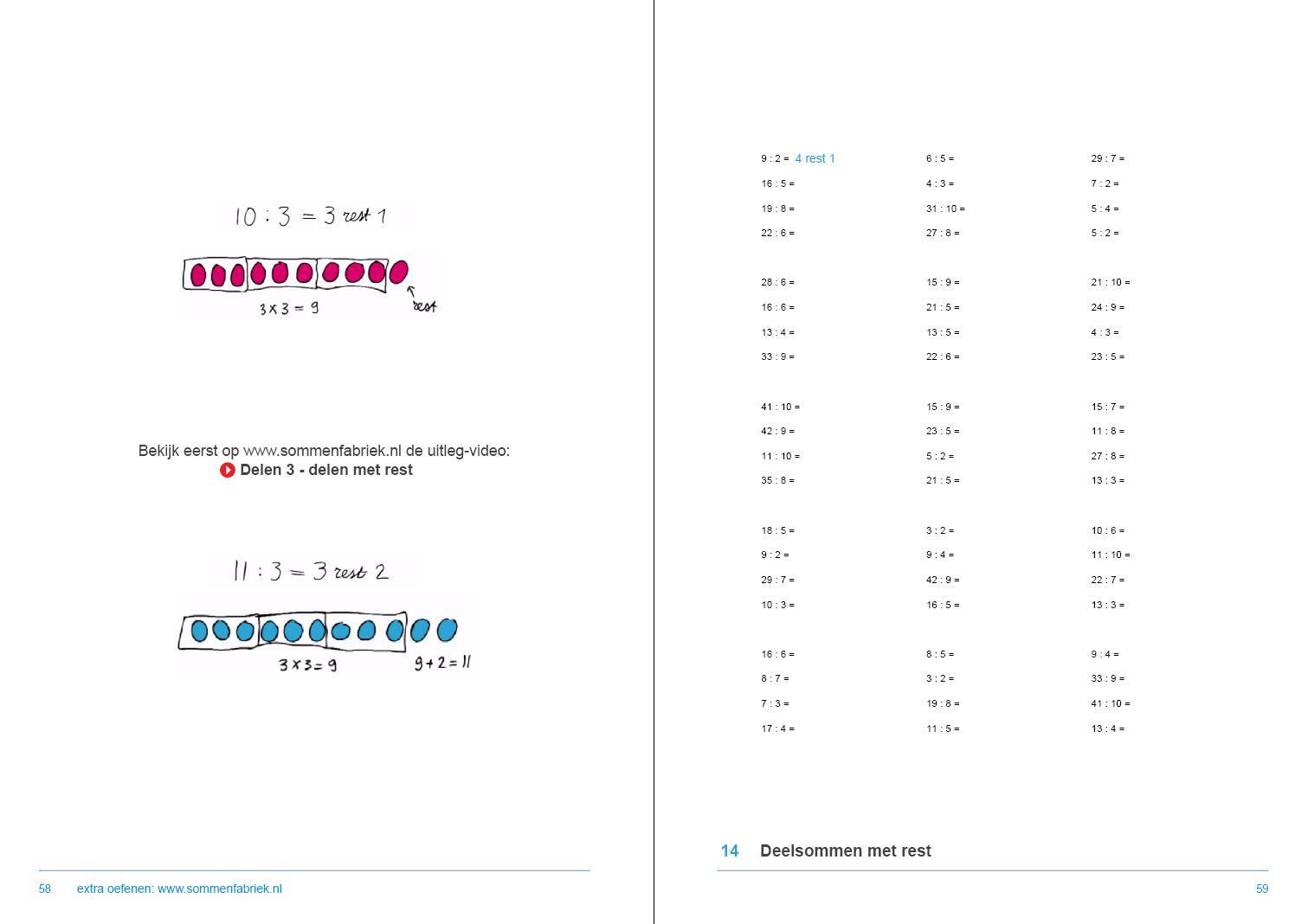 Wiskunde-werkbladen Met Antwoorden 6