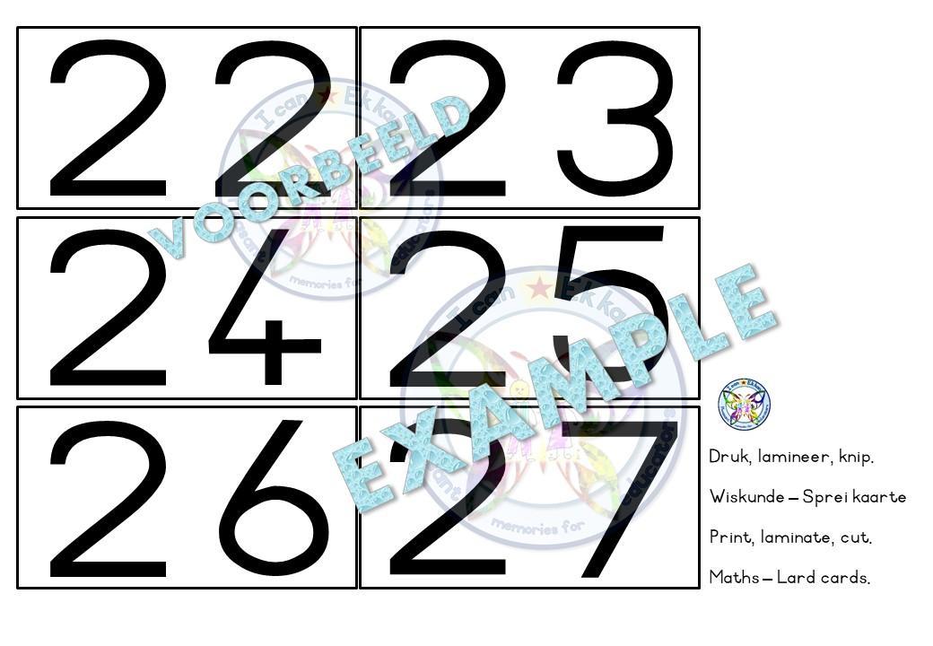 Wiskunde Werkbladen Nummers 1-10 8