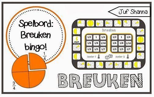 Wiskunde-werkbladen Over Breuken 3