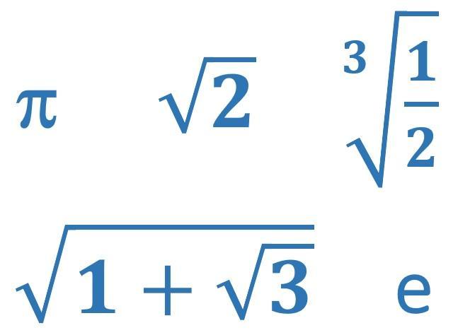 Wiskunde Werkbladen Rationele En Irrationele Getallen 1