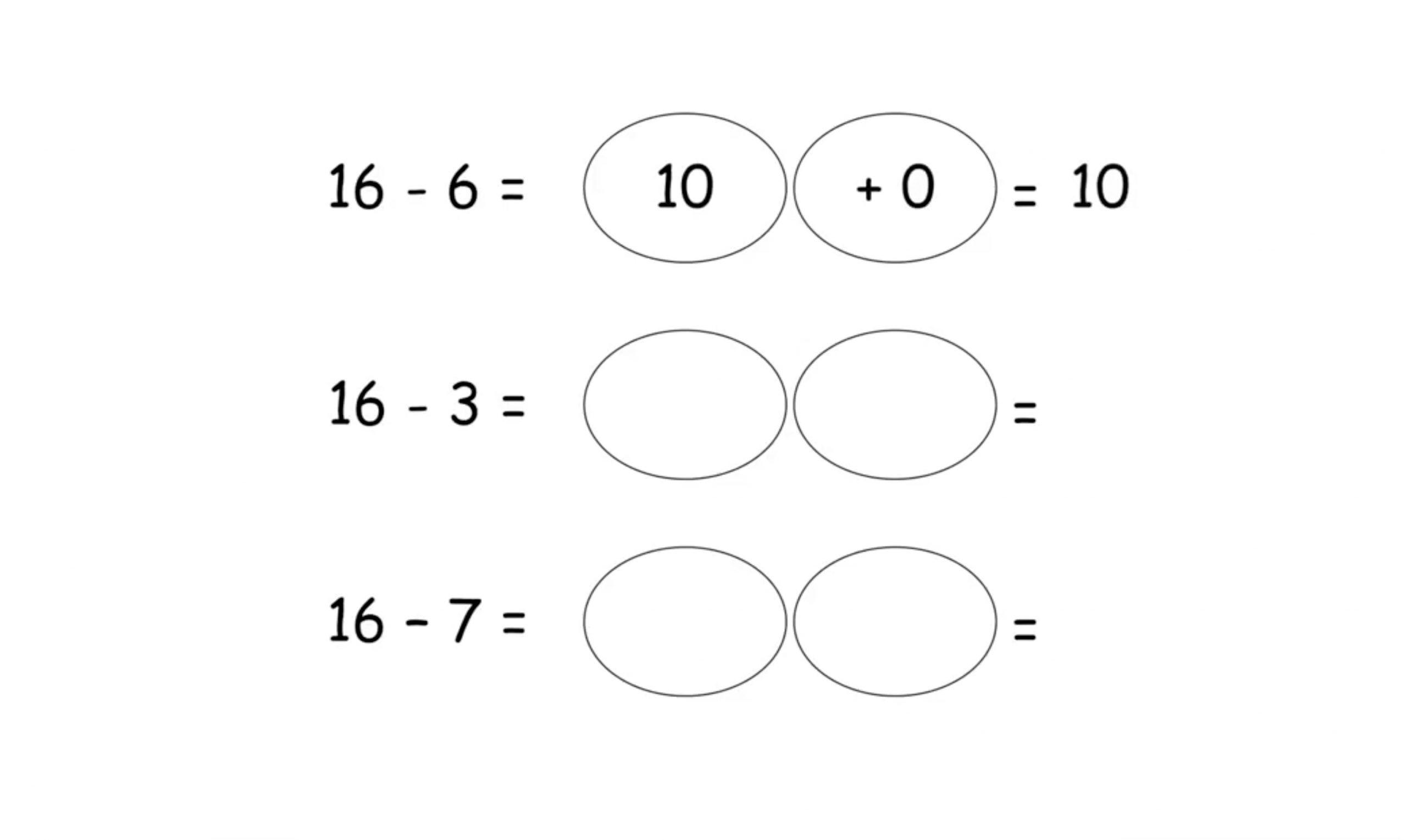 Wiskunde-werkbladen Tot 20 2