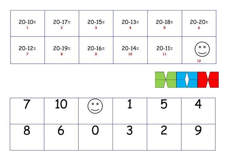 Wiskunde-werkbladen Tot 20 4